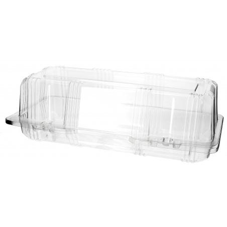 Envase Tapa Bisagra para Respotería PET 24x10x8cm (220 Uds)