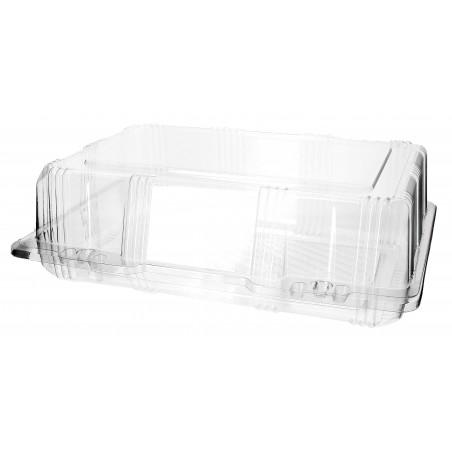 Envase Tapa Bisagra para Respotería PET 25x17x8cm (220 Uds)