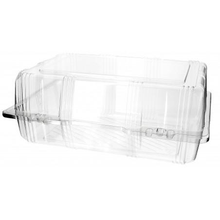 Envase Tapa Bisagra para Respotería PET 25x17x10cm (20 Uds)