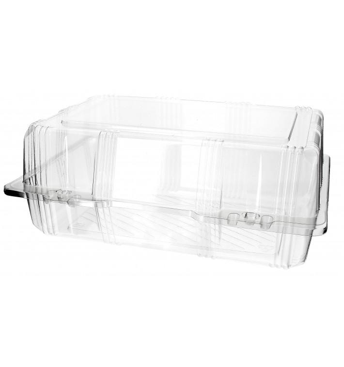 Envase Tapa Bisagra para Respotería PET 25x17x10cm (220 Uds)