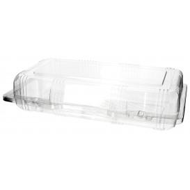 Envase Tapa Bisagra para Respotería PET 26x13x6cm (20 Uds)