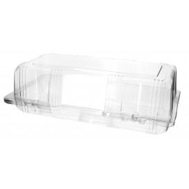Envase Tapa Bisagra para Respotería PET 26x13x8cm (20 Uds)