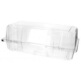 Envase Tapa Bisagra para Respotería PET 26x13x10cm (220 Uds)