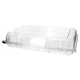 Envase Tapa Bisagra para Respotería PET 28x18x6cm (20 Uds)
