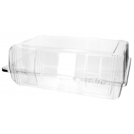Envase Tapa Bisagra para Respotería PET 28x18x10cm (220 Uds)