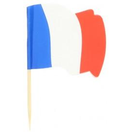 """Pinchos Banderita """"Francia"""" 65mm (14.400 Uds)"""