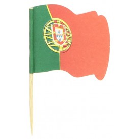 "Pinchos Banderita ""Portugal"" 65mm (14.400 Uds)"