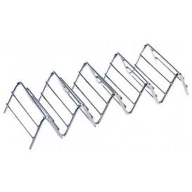 Soporte para Bocadillos de Acero 197x64x38mm (12 Uds)