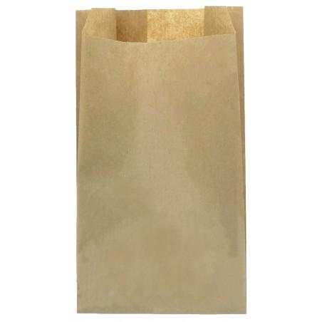 Bolsa de papel Kraft 18+7x32cm (250 Unidades)