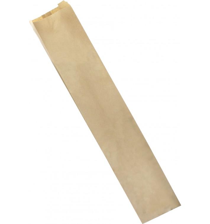 Bolsa de Papel Kraft 9+5x24cm (1000 Unidades)