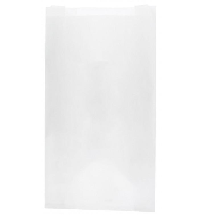 Bolsa de Papel Blanca 12+6x20cm (1000 Unidades)