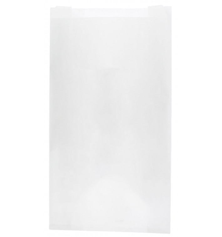 Bolsa de Papel Blanca 14+7x24cm (1000 Unidades)