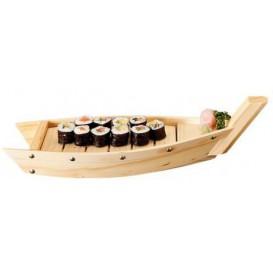 Barco para Sushi de Madera 44x13x11cm (1 Ud)