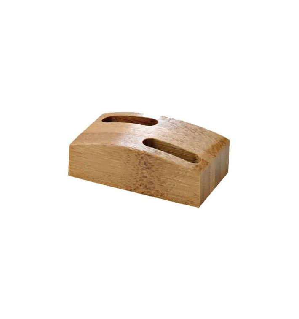 Soporte de Bambu para Pinchos 60x35mm (1 Ud)