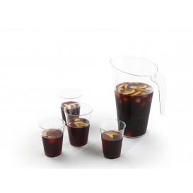 Vaso de Plastico PS Inyectado Transparente 250ml (25 Uds)