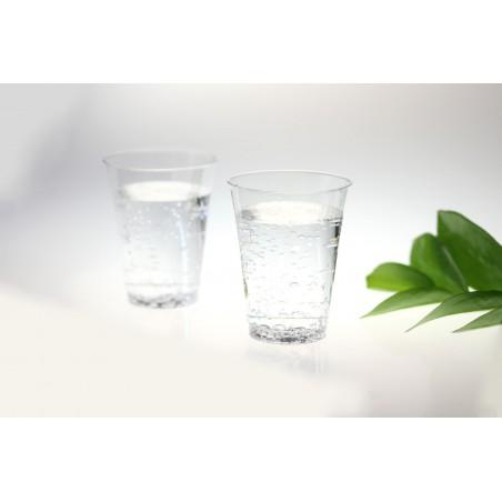 Vaso de Plastico PS Inyectado Transparente 250ml (500 Uds)