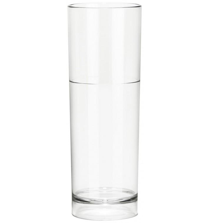Vaso Reutilizable SAN Tumbler Transparente 200ml (6 Uds)