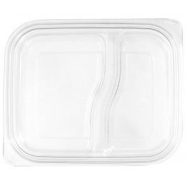Tapa Plana Plástico para Envase PET 18x15cm (450 Uds)