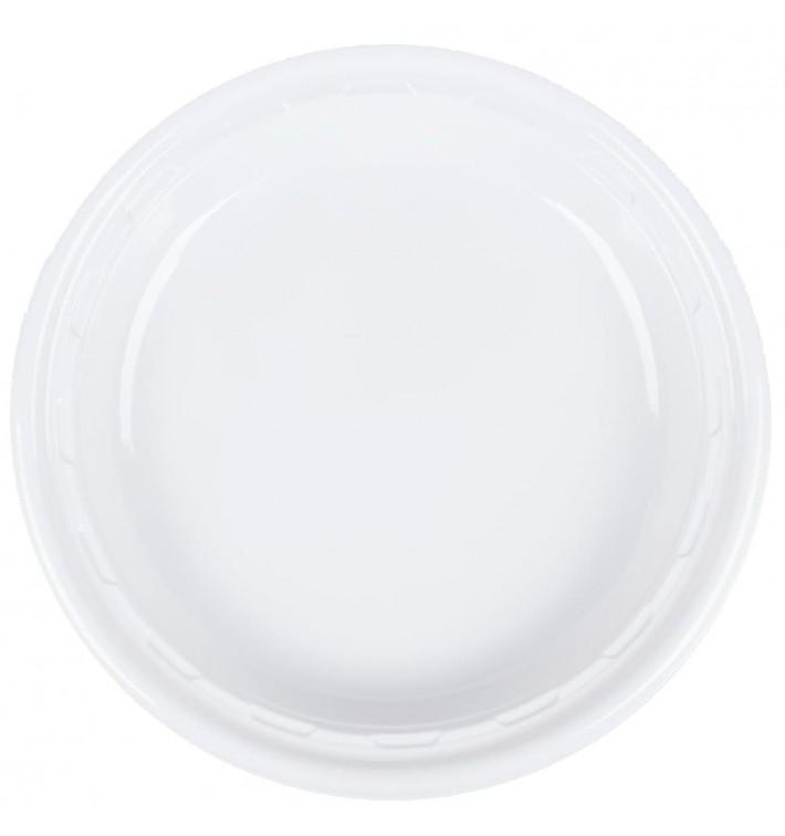 """Plato de Plastico PS """"Famous Impact"""" Blanco Ø280mm (500 Uds)"""