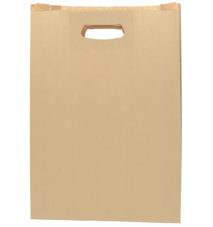 Bolsa Papel Hawanna Asas Troqueladas 31+8x42cm (50 Uds)