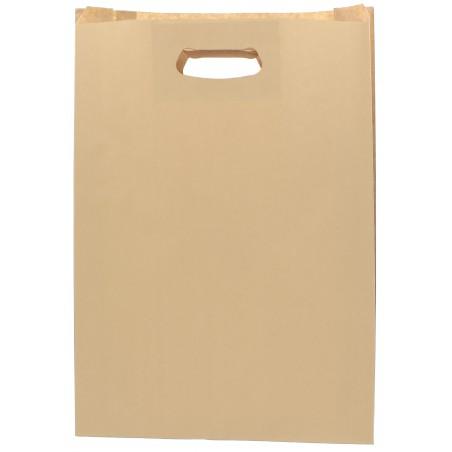 Bolsa Papel Hawanna Asas Troqueladas 31+8x42cm (250 Uds)