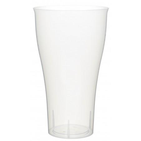 Vaso de Plastico Cocktail 430ml PP Transparente (15 Uds)