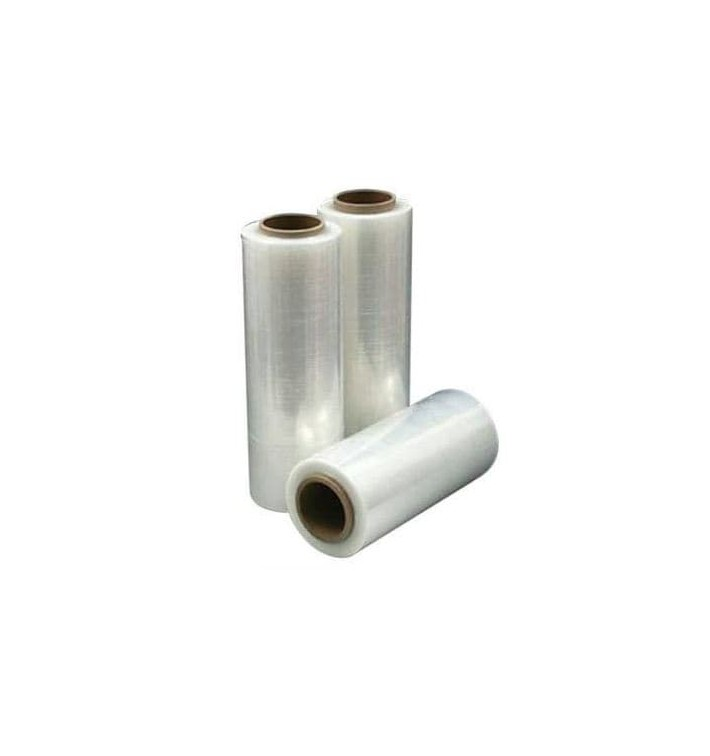 Film estirable manual 500 mm 2,1Kg Transparente (1 bobina)