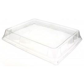 Tapa de Plastico Transp. para Bandeja de 325x265mm (25 Uds)