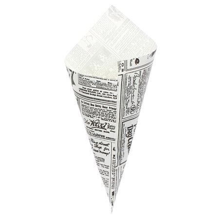 Cono de Papel Antigrasa Times 295mm 250g (2.000 Uds)