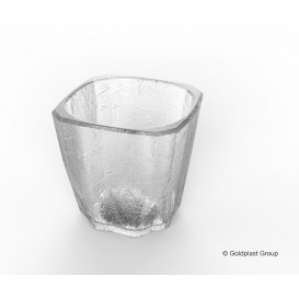 "Vaso Reutilizable SAN Mini Drink ""Cube"" 200ml (8 Uds)"