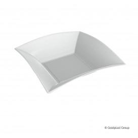Plato Hondo Caña de Azucar Nice Blanco 180x180mm (50 Uds)