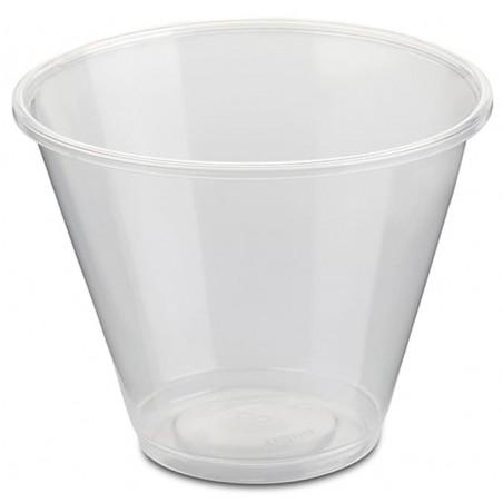 Tarrina Plástico PP Transparente 280ml Ø9,4cm (50 Uds)