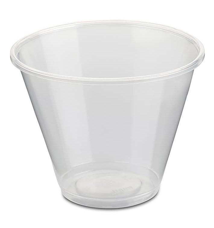 Tarrina Plástico PP Transparente 280ml Ø9,4cm (800 Uds)