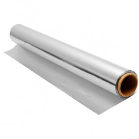 Bobina de Aluminio 30cm x 50m en Dispensador (40 Uds)
