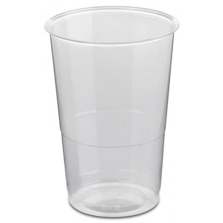 Vaso Plastico Enfundado PS Cristal 250ml (50 Uds)