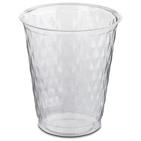 "Vaso Plastico ""Ruby"" PS Cristal 250ml (50 Uds)"