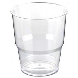 Vaso Plastico Enfundado PS Cristal Duro 250ml (50 Uds)