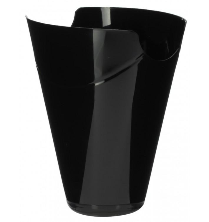 """Envase Degustación """"Click-Clack"""" PP Negro 80ml (20 Uds)"""