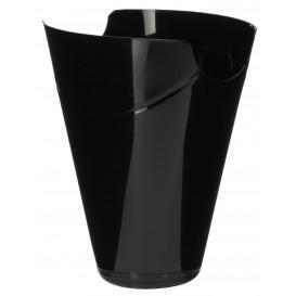 """Envase Degustación """"Click-Clack"""" PP Negro 180ml (10 Uds)"""