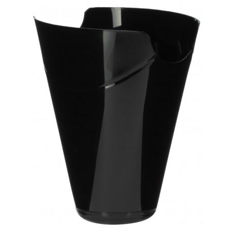 """Envase Degustación """"Click-Clack"""" PP Negro 180ml (20 Uds)"""
