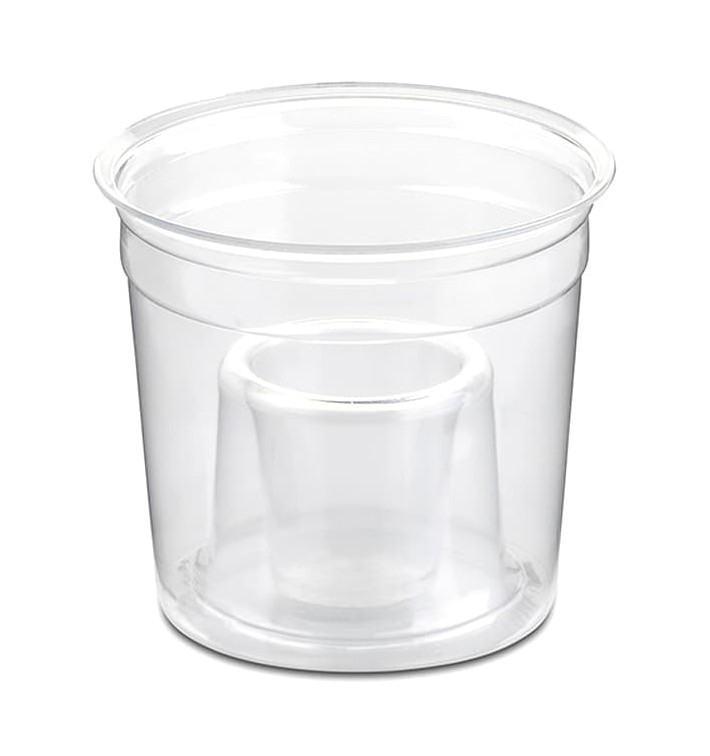"Vaso Plastico ""Shot Bomb"" PS Cristal 250ml (50 Uds)"