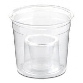 "Vaso Plastico ""Shot Bomb"" PS Cristal 250ml (1000 Uds)"