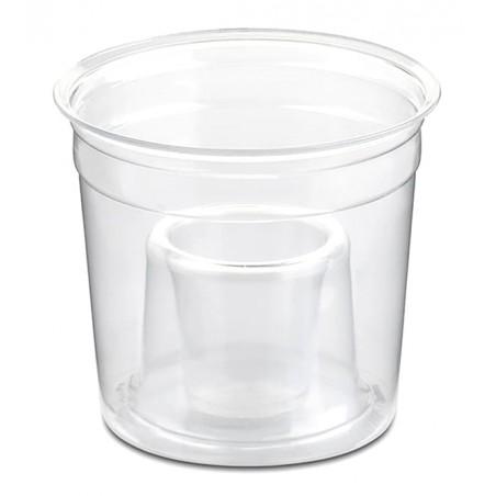 "Vaso Plastico ""Shot Bomb"" PS Cristal 250ml (1000 Uds)"