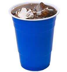 Vaso Azul Americano para Fiestas 550ml (25 Uds)