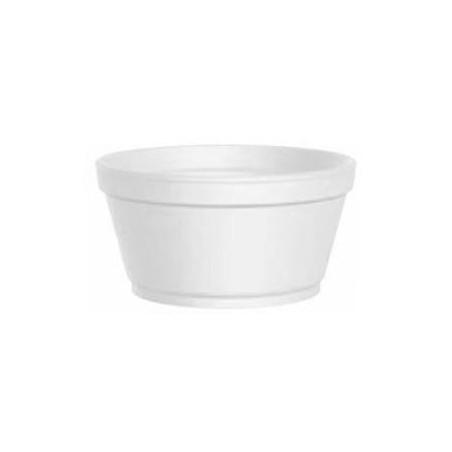Tarrina Termico Foam Blanco 2 Oz/60ml Ø7,4cm (1000 Uds)