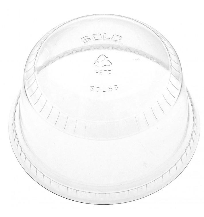 Tapa Cúpula Cerrada PET Cristal Ø9,2cm (1000 Uds)