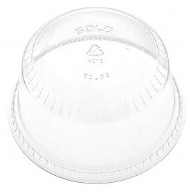 Tapa Cúpula Cerrada PET Cristal Ø9,8cm (1000 Uds)