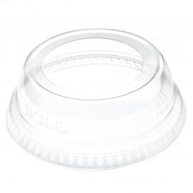 Tapa Cúpula Abierta PET Cristal Ø7,8cm (100 Uds)