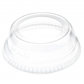 Tapa Cúpula Abierta PET Cristal Ø7,8cm (1000 Uds)