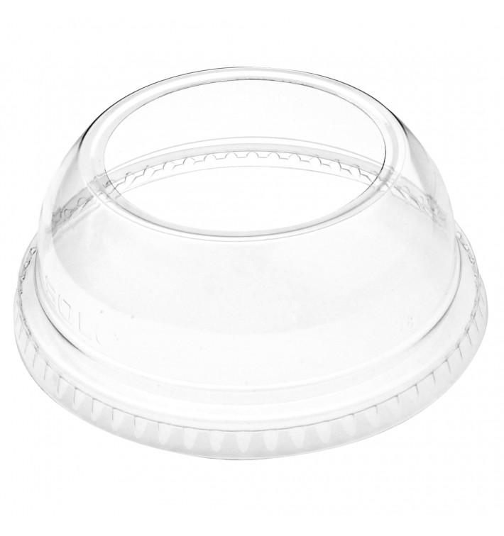 Tapa Cúpula Abierta PET Cristal Ø9,2cm (100 Uds)